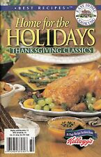 HOME FOR THE HOLIDAYS THANKSGIVING CLASSICS EASY HOME COOKING COOKBOOK 2002