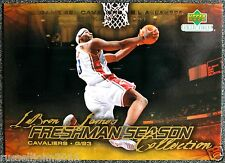 2003-04 UPPERDECK RC LEBRON JAMES ROOKIE REDEMPTION NBA BASKETBALL CARD # 49