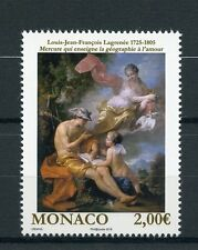 Monaco 2016 MNH Nudity in Art 1v Set Lagrenee Nude Paintings Stamps
