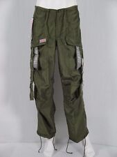 UFO NWT Silky Dance Pants XS Mens /UniSex Olive Reflective Twill FLAWLESS $59/69