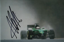 ANDRE LOTTERER CATERHAM F1 HAND SIGNED 6X4 PHOTO 17.