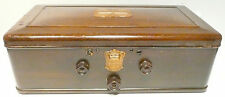 vintage * ATWATER KENT #55 BREADBOX w/ 2 TUBES - Untested