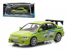 BRIAN'S FAST AND FURIOUS MITSUBISHI LANCER EVOLUTION VII 1/43 GREENLIGHT 86209