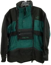 THE NORTH FACE SCOT SCHMIDT STEEP TECH BLACK GREEN SKI COAT JACKET MENS SIZE XL