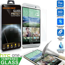 YELLOW-PRICE Ballistic [Tempered Glass] Screen Protector Saver For HTC ONE M9