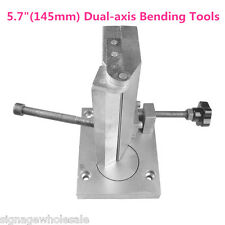 "5.7"" (145mm) Dual-axis Metal Sign Channel Letter Angle Bender Bending Tools"