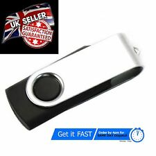 2Gb Silver Black Memory Stick USB Flash Drive 2.0 High Speed