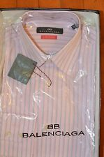 NWT Balenciaga Men Dress Shirt