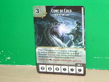 DICE MASTERS Dungeons & Dragons Basic Action Card - Cone of Cold (only card)