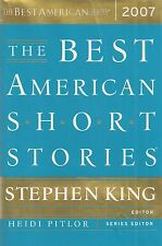 "Best American Short Stories 2007"" SIGNED by STEPHEN KING, Richard RUSSO + 5 MORE"