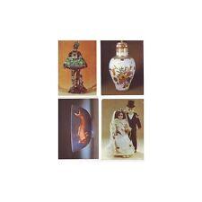 Lot 4 Cartes Vierges A Ecrire Themes Arts - Poupées -Vase -Statuette -Porcelaine