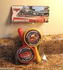 Disney Pixar CARS Maracas 2 Piece Set Musical Instrument NEW