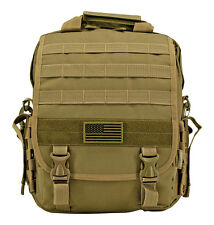 Tactical Laptop Urban Pack EDC Satchel Bag Survival Office Briefcase Bag Coyote*