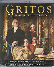 SEALED - Gritos De Muerte y Libertad 2 Disc Set BLURAY Blu-ray Disc BRAND NEW