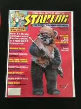 STAR WARS EWOKS 1985 STARLOG MAGAZINE , DOCTOR WHO, GEORGE LUCAS, TWILIGHT ZONE