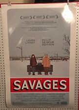Original Movie Poster Savages Double Sided 27x40