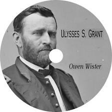 Ulysses S. Grant Biography Audiobook by Owen Wister on 1 MP3 CD Free Shipping