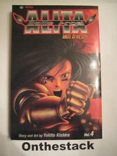 MANGA:   Battle Angel Alita Vol. 4 by Yukito Kishiro (2004, Paperback)