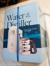 MEGAHOME WATER DISTILLER INTERNATIONAL UK 220-240V HOME FILTER PURIFIER SYSTEM!