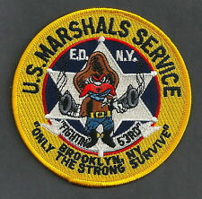 UNITED STATES MARSHAL BROOKLYN NEW YORK POLICE PATCH