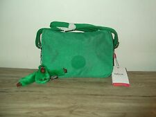 Kipling Shoulder Bag - Mojito Green Canvas + Theresa The Monkey RRP £55.00