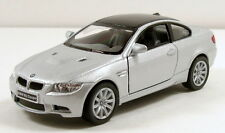 "Kinsmart BMW M3 Coupe 1/36 scale 5"" diecast metal model car Silver K08"