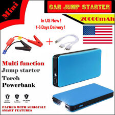 Portable12V 20000mAh Car Jump Starter Power bank Booster Battery Charger FSS US