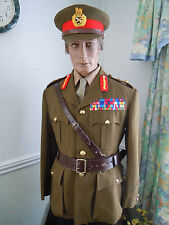 BRITISH ARMY MAJOR GENERALS No 2 COMPLETE UNIFORM & CAP ETC, STUNNING