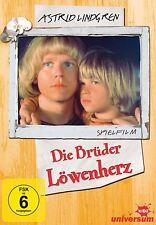 Astrid Lindgren DIE BRÜDER LÖWENHERZ Spielfilm / Kinderfilm DVD Neu