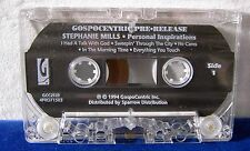 Stephanie Mills Personal Inspirations 10 track 1994 pre-release CASSETTE TAPE