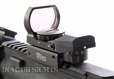 Walther Holographic Red+Green Dot Sight Fits 20mm Rails /Airsoft Reflex Sight