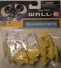 Disney Pixar WALL-E Wall E 15 Pcs Bag o' Bots Figures Cupcake Toppers Or Toys