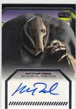 Matthew Wood ++ Autogramm ++ Star Wars