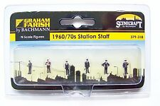 N scale Scenecraft 1960's / 70's RAILROAD STATION STAFF Worker Figures  # 318