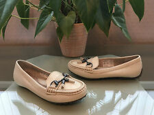 Ladies Hush Puppies Dalby Moc ivory leather tassel loafers UK 5 EU 38 RRP £55