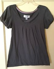 American Eagle Outfitters, Gray, Flowy Shirt, Woman's M