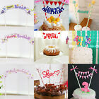 Flag Cute Kids Cake Topper Baby Shower Decorations Birthday Party Supplies