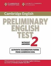 Cambridge Preliminary English Test 2 Student's Book: Examination Papers from the