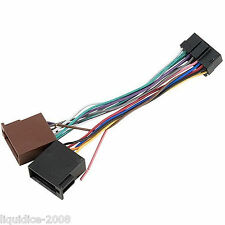 PC3-484 JVC 16 PIN to ISO HEADUNIT  POWER ADAPTOR LEAD REPLACEMENT POWER CABLE