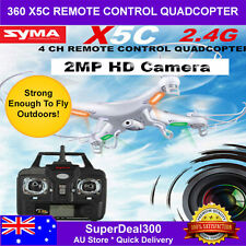 360° Syma X5C Explorers 2.4Ghz 4CH 6-Axis Gyro RC Quadcopter with HD Camera