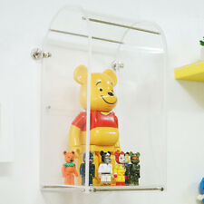 [NEW]Curved acrylic display case for 12 inch action figure case, Bearbrick 400%.