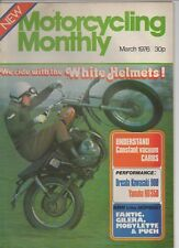 Motorcycling Monthly Mar 76 RD350, Dresda, Gilera Fantic Puch Mobylette R60 Jawa