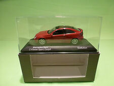 MINICHAMPS  1:43 MERCEDES BENZ C SPORT COUPE EVO -  IN BOX - DEALER EDITION.
