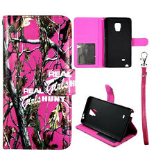 For Samsung Galaxy Note Edge N915 GHToo Camo Hunt Wallet Pu- Leather Case Cover