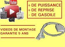 Boitier Additionnel : Gain de PUISSANCE et COUPLE - PEUGEOT 607 2.0 2L HDI - 110