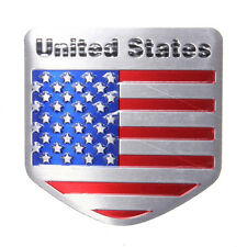 Nice US USA American Flag Metal Auto Refitting Car Badge Emblem Decal Sticker