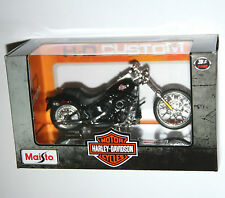 Maisto harley davidson 2002 fxstb night train modèle echelle 1:18
