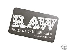 RAW Three Way Shredder/Grinder Card