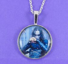 THE CROW NECKLACE brandon lee eric draven goth emo grunge cult movie nineties