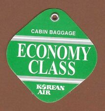 Korean Air Airlines Cabin Baggage Tag Economy Class